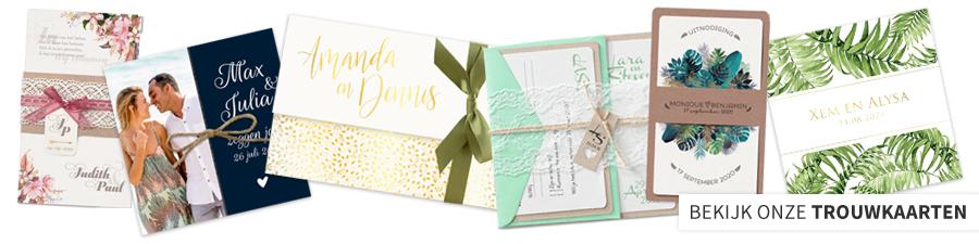 Huwelijk uitnodiging online uitnodigingen bestellen