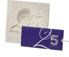 Teksten Jubileumkaart 25 Jarig Huwelijksjubileum Trouwkaarten